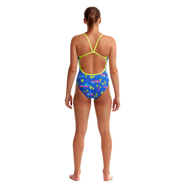 Funkita - Cadi Shack - Ladies Eco Single Strap One Piece
