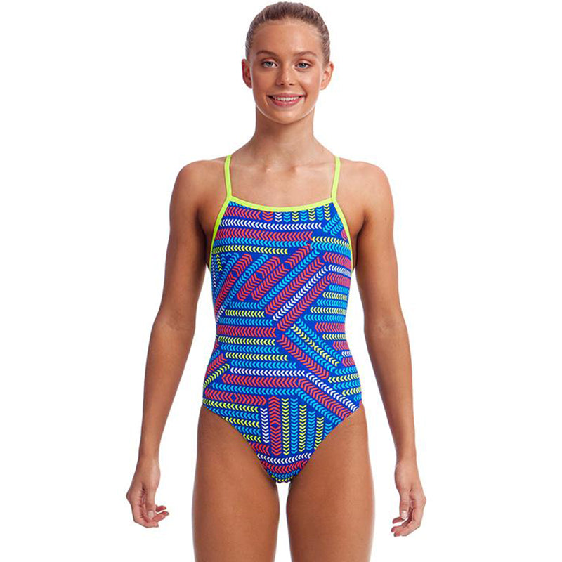 Funkita - Chain Reaction - Girls Strapped In One Piece