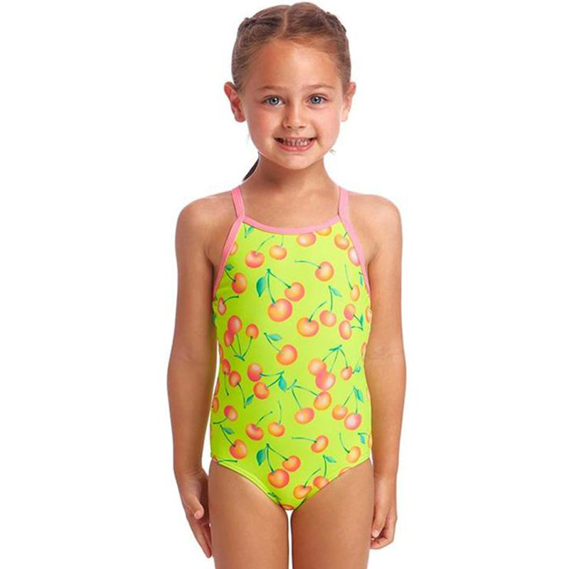Funkita - Cherry Top - Toddler Girls Printed One Piece
