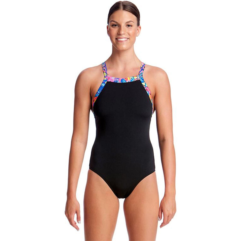 Funkita - Club Tropo - Ladies Sky Hi One Piece