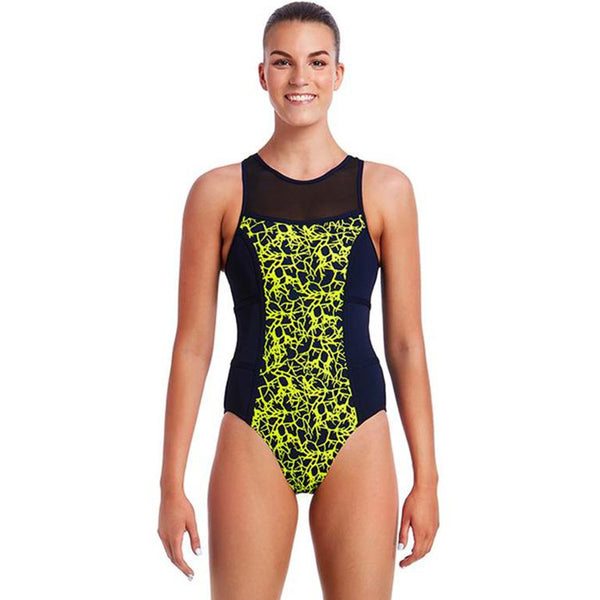 Funkita - Coral Gold - Ladies Hi Flyer One Piece