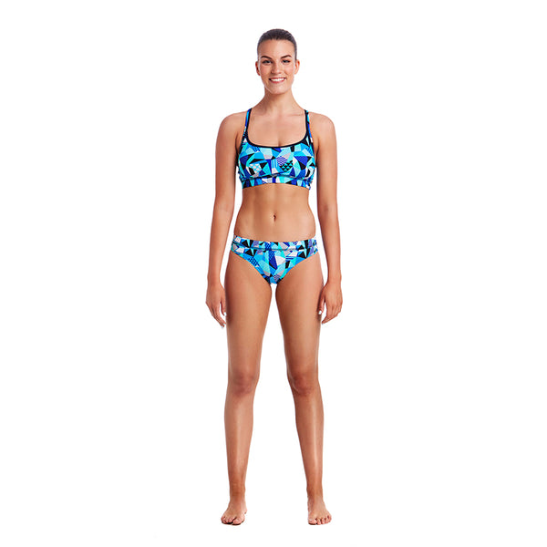 Funkita - Crack Attack - Ladies Bikini Sports Briefs