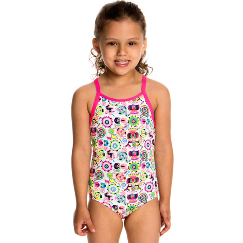 Funkita - Crazy Critters - Toddlers Girls One Piece