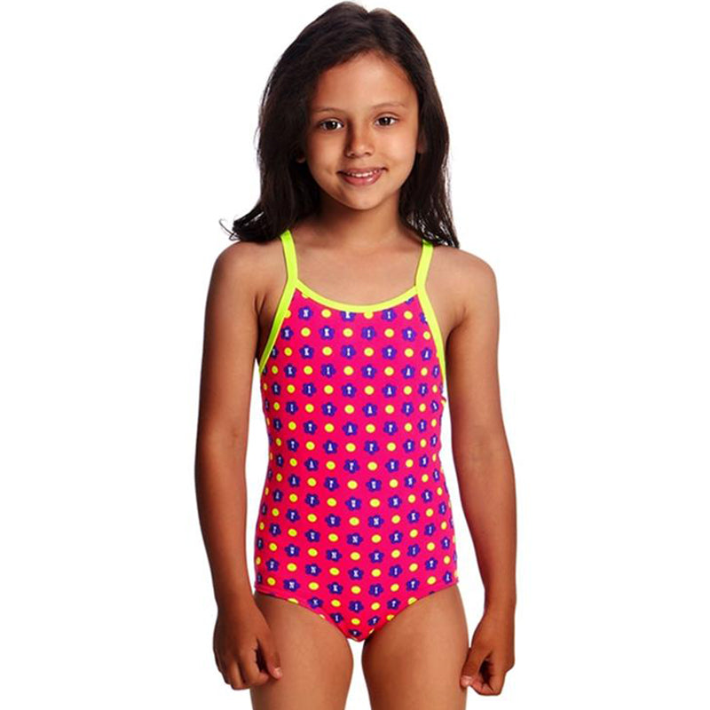 Funkita - Daisy Dots Toddlers Girls One Piece Swimsuit