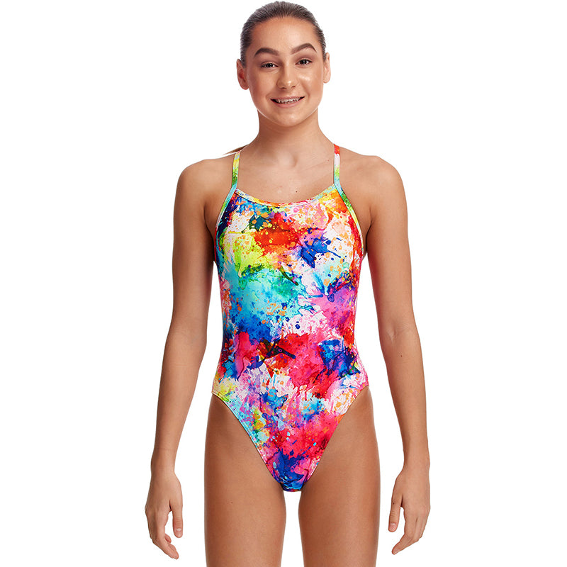 Funkita - Dye Another Day - Girls Single Strap One Piece