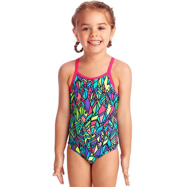 Funkita - Feather Fiesta - Toddlers Girls One Piece