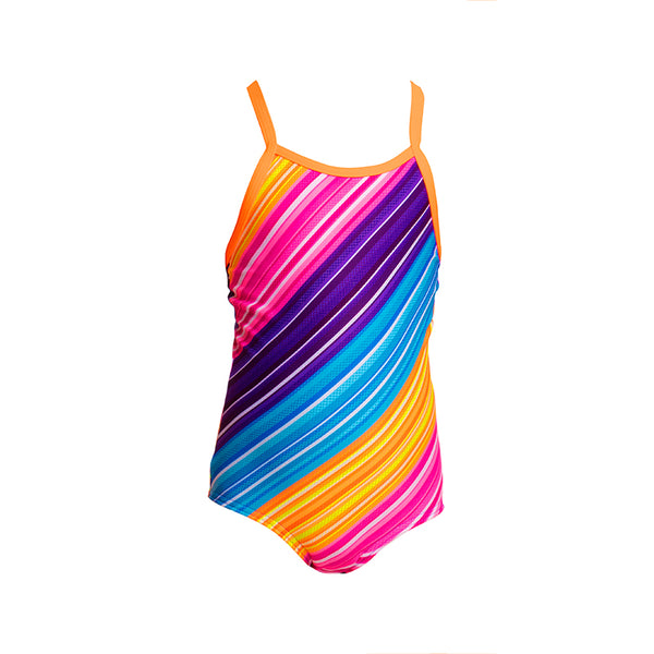 Funkita - Fine Lines - Toddlers Girls One Piece
