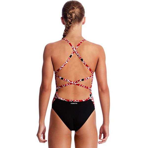 Funkita - Fire Light - Girls Strapped In One Piece