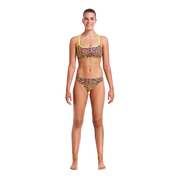 Funkita - Fireworks - Ladies Bikini Criss Cross Top