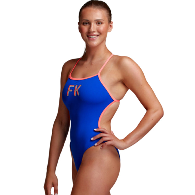 Funkita - FK Blue - Ladies Twisted One Piece