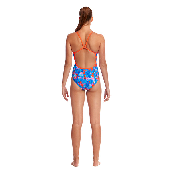 Funkita - Flaming Vegas - Ladies Single Strap One Piece
