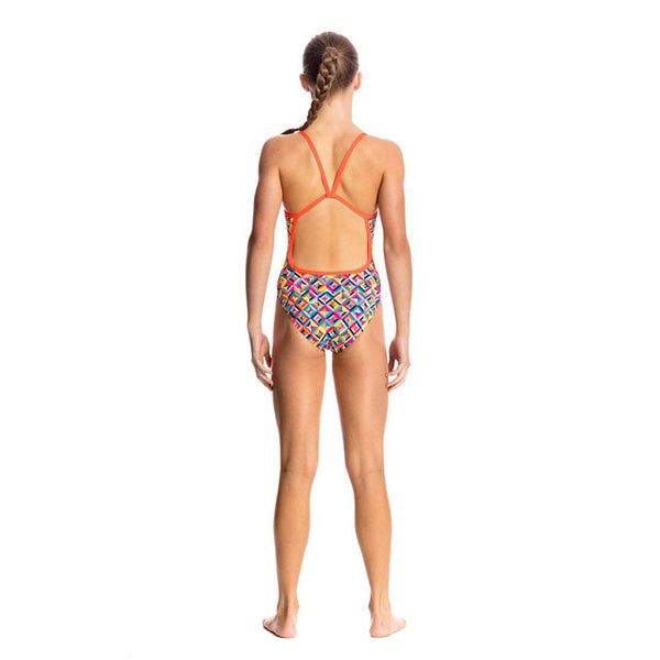 Funkita - Flash Bomb - Girls Single Strap One Piece