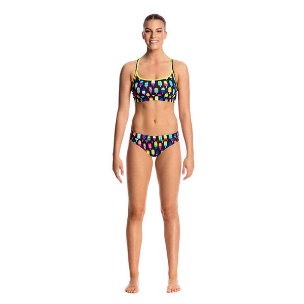 Funkita - Frosty Fruits - Ladies Bikini Sports Top