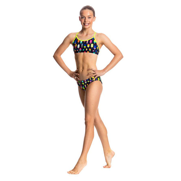 Funkita - Frosty Fruits - Girls Racerback Two Piece
