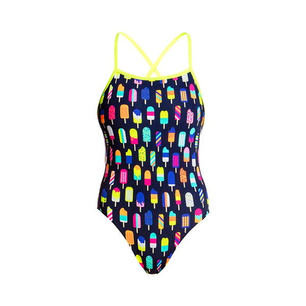 Funkita - Frosty Fruits - Ladies Tie Me Tight One Piece