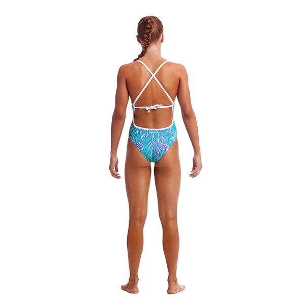 Funkita - Frozen Fire - Girls Tie Me Tight One Piece