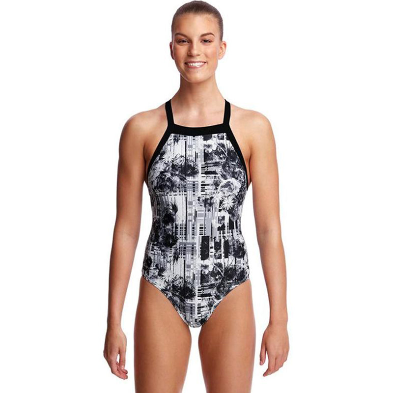Funkita - Garden Mist - Ladies Sky Hi One Piece