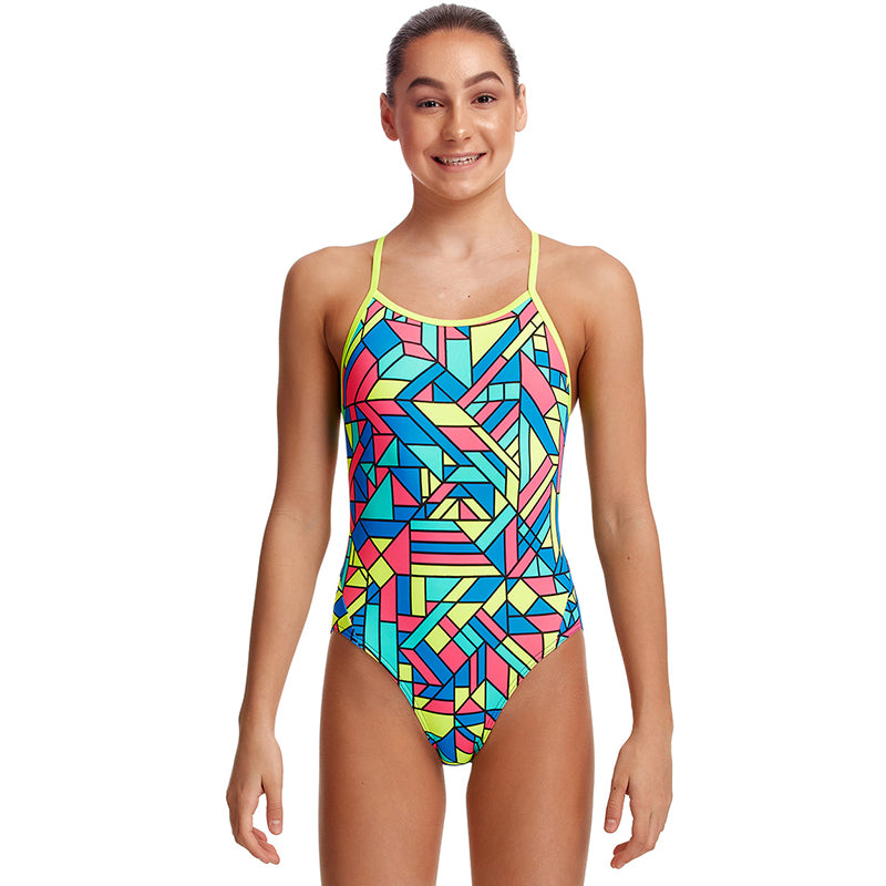 Funkita - Gettin Jiggy - Girls Twisted One Piece