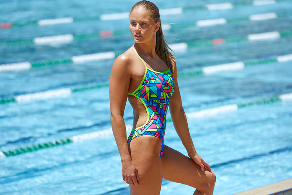 Funkita - Gettin Jiggy - Ladies Twisted One Piece