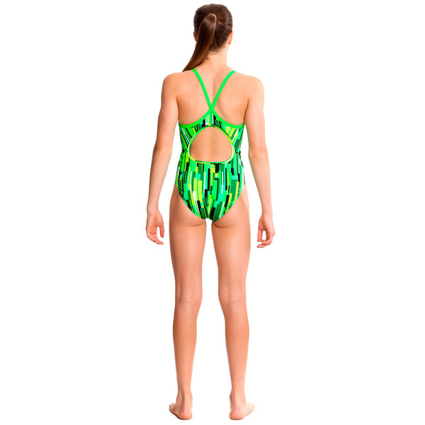 Funkita - Acid Rain - Girls Diamond Back One Piece