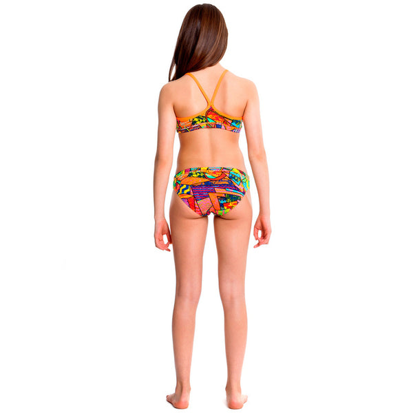 Funkita - Cubism Chaos - Girls Racerback Two piece