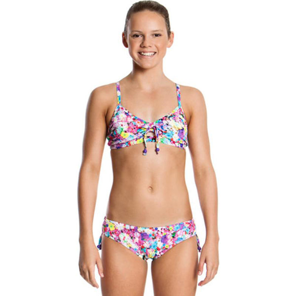 Funkita - Garden Party - Girls Tie Detail Two Piece