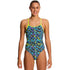 Funkita - Hazard Lights - Girls Diamond Back One Piece