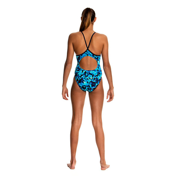 Funkita - Lightspeed - Girls Diamond Back One Piece