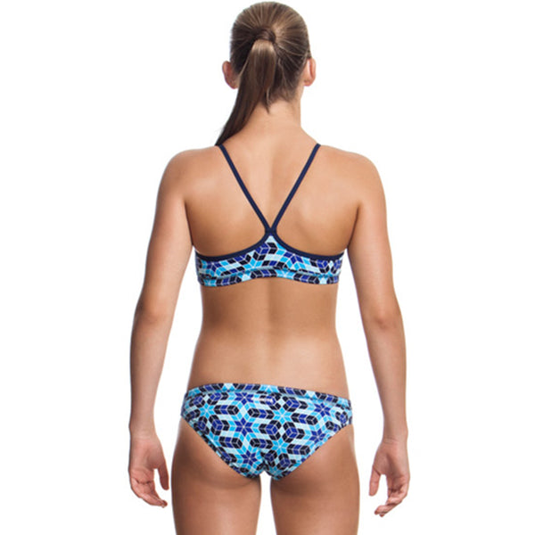 Funkita - Liquid Ice - Girls Racerback Two Piece