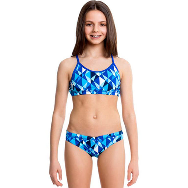 Funkita - Platinum Power - Girls Racerback Two Piece