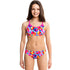 Funkita - Prism Collision - Girls Racerback Two Piece