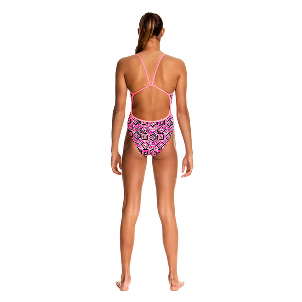 Funkita - Ruby Racer - Girls Single Strap One Piece