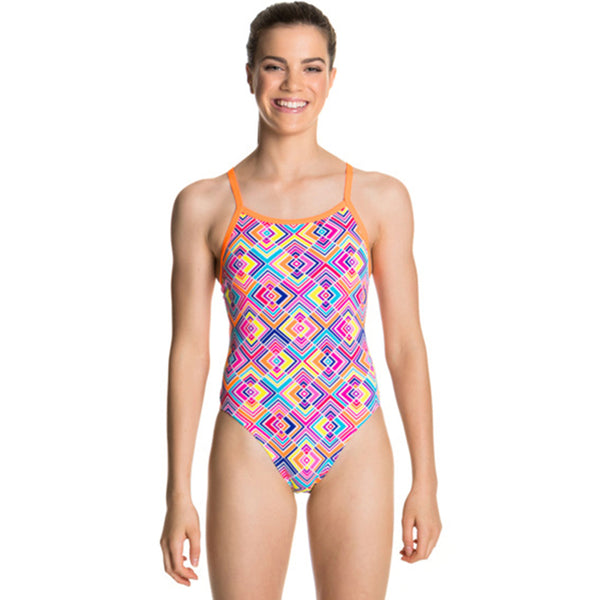 Funkita - Square Bare - Girls Single Strap One Piece