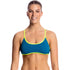 Funkita - Glacier Girl - Ladies Tie Down Bikini Top