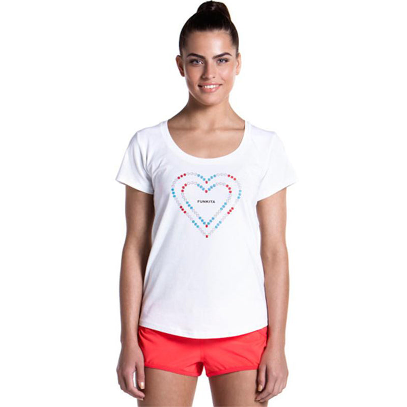 Funkita - Heart Lane Rope - Girls Scoop Neck T-Shirt