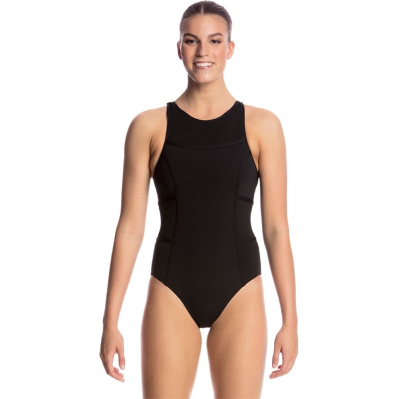 Funkita - Still Black - Ladies Hi Flyer One Piece