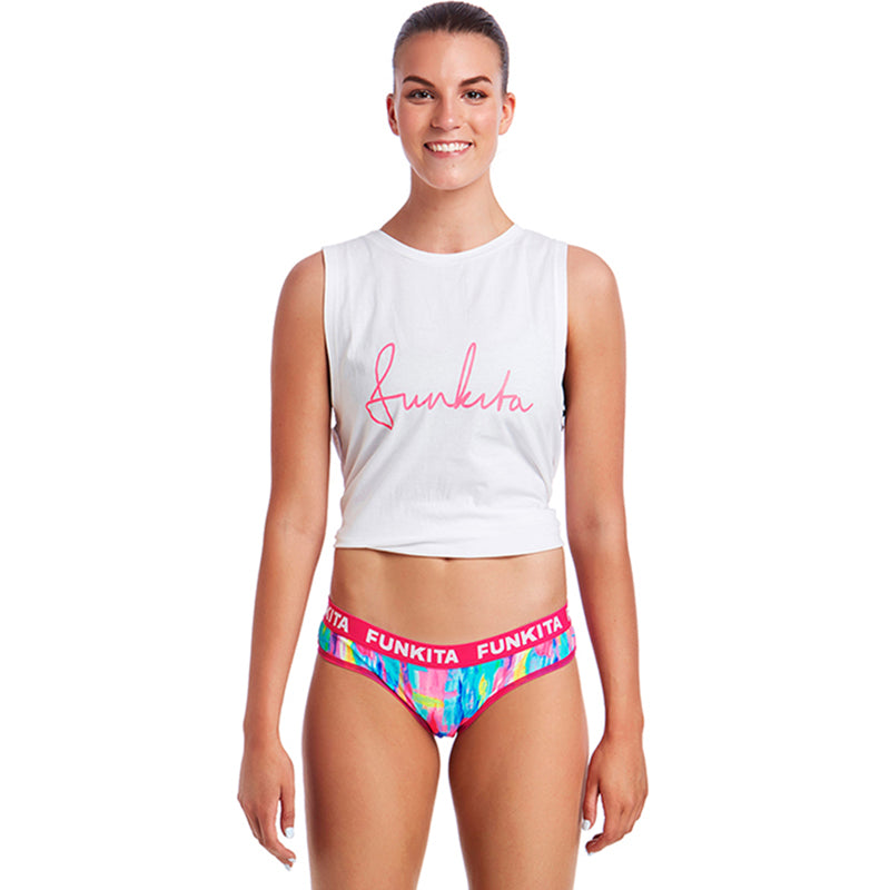 Funkita - Impressionista Brief Ladies Underwear