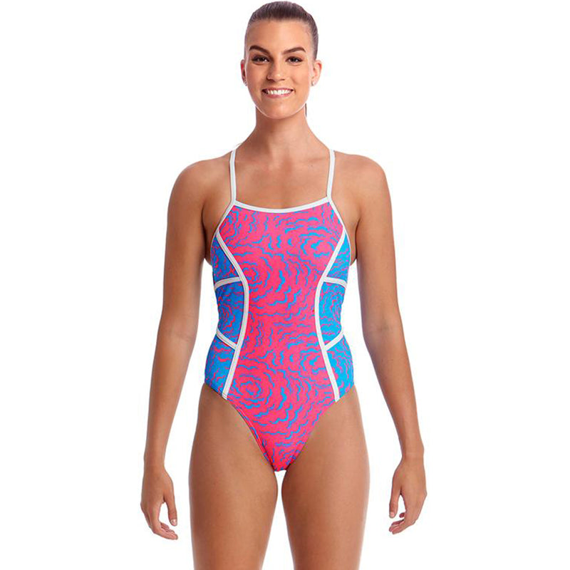 Funkita - In The Cloud - Ladies Colour Block One Piece
