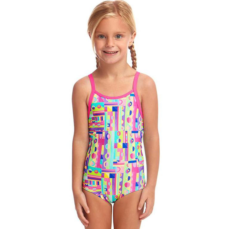 Funkita - Jiggy Saw - Toddler Girls Printed One Piece