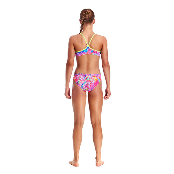 Funkita - Kaleidocolour - Girls Racerback Two Piece