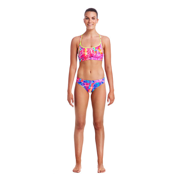 Funkita - Kaleidocolour - Ladies Bikini Sports Top