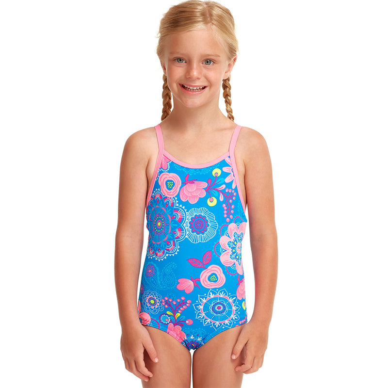 Funkita - Lacy In The Sky - Toddler Girls Printed One Piece