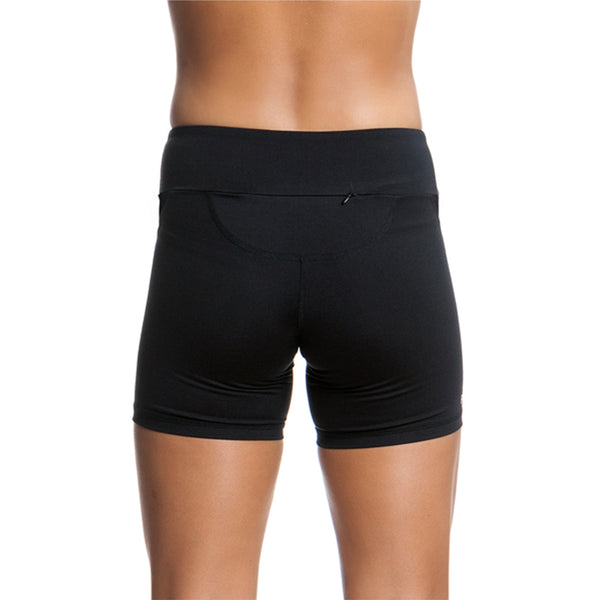 Funkita - Black - Ladies Active Plain Short