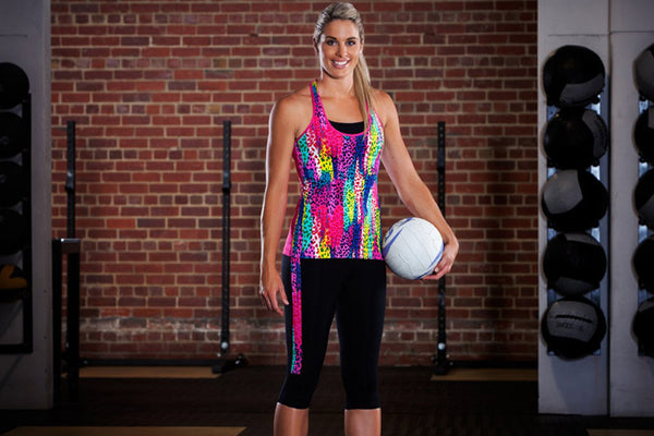 Funkita - Feline Fever - Ladies Active Singlet Top