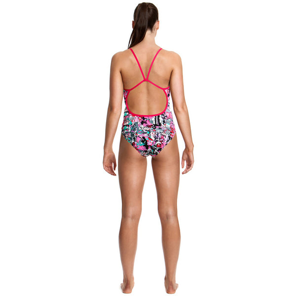 Funkita - Baby Come On - Ladies Single Strap One Piece