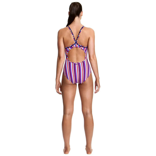 Funkita - Colour Love - Ladies Diamond Back One Piece