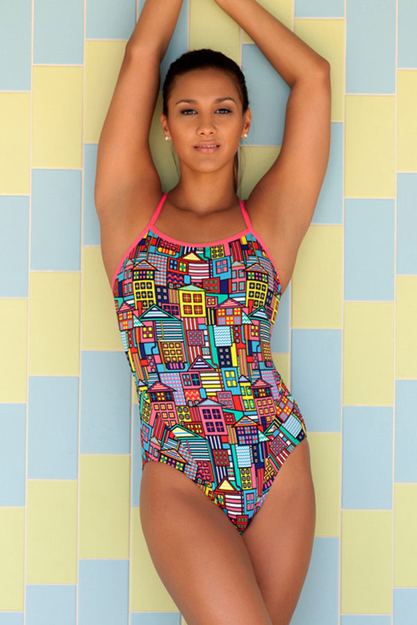 Funkita - Powerhouse - Ladies Single Strap One Piece