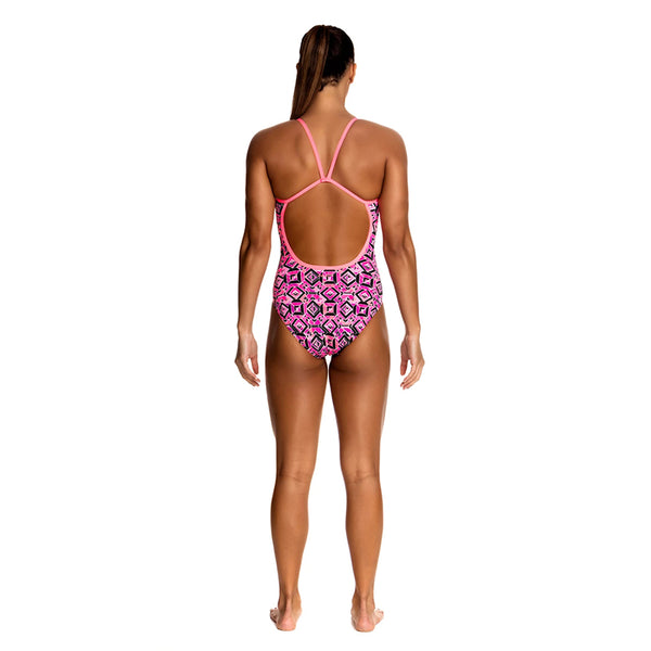 Funkita - Ruby Racer - Ladies Single Strap One Piece