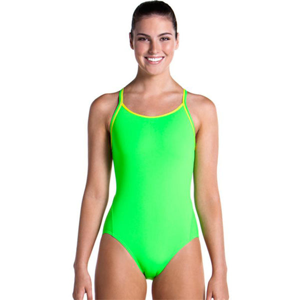 Funkita - Still Brasil - Ladies Diamond Back One Piece
