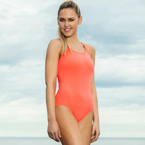 Funkita - Still Orange - Ladies Diamond Back One Piece